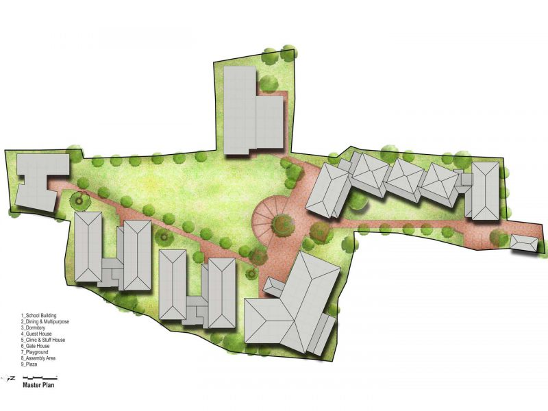Master plan-Top view