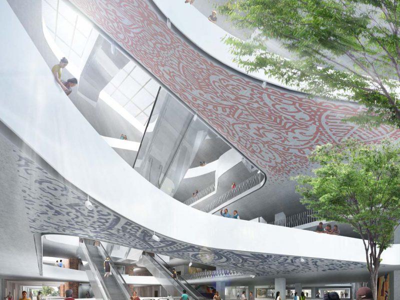 BRAC University-Central Lobby
