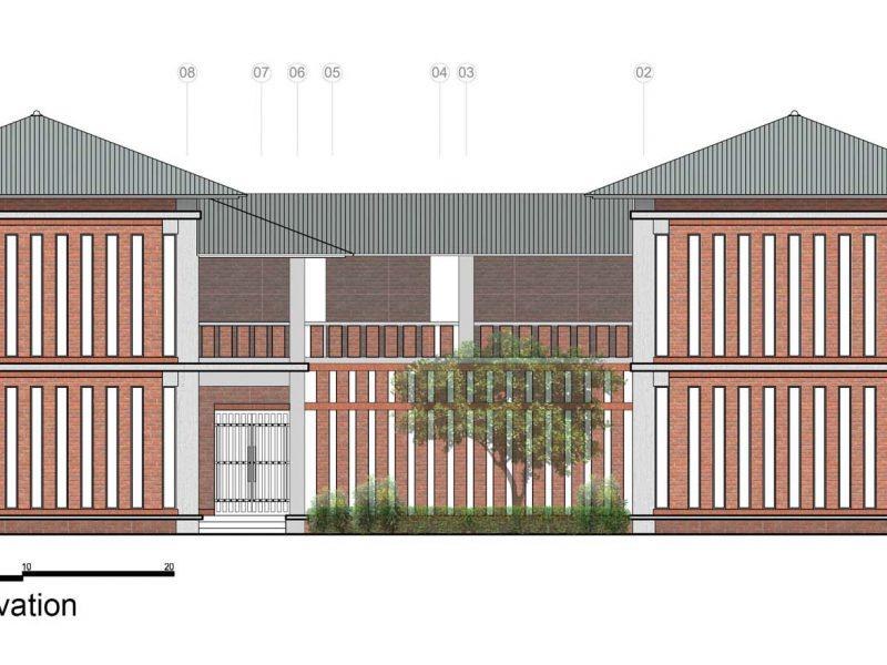 Elevation Dormitory-01