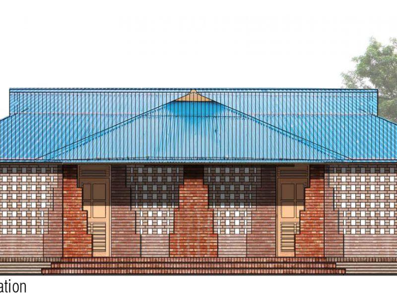 Elevation: Community Hall