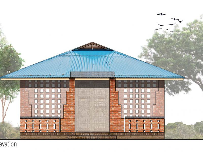 Elevation: Mosque