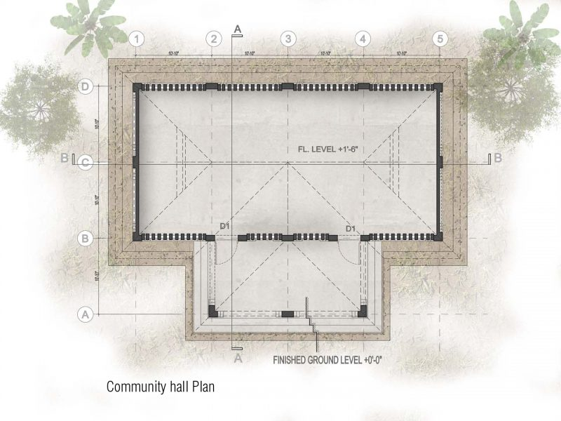 Plan: Community Hall