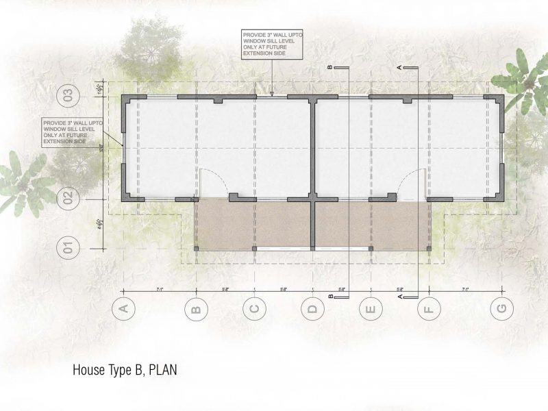 Plan: House Type-B