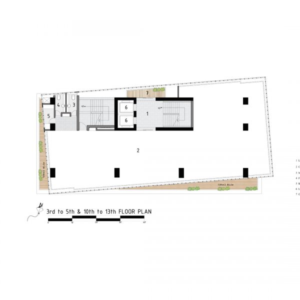 3rd Floor Plan