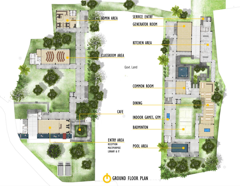 Schematic Plan_Training Center